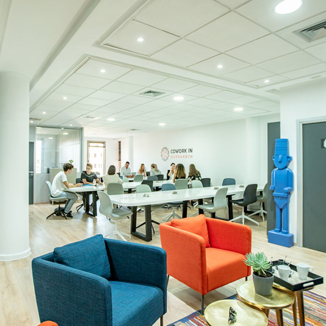 Poste coworking